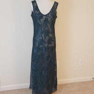 Victoria's Secret green vintage night gown size M